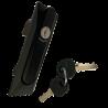 Slot en sleutels voor Mini mobiele zadelkamer.