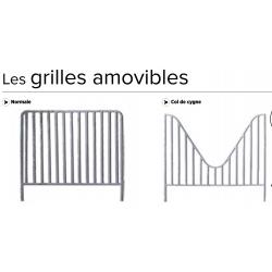 GRILLE NORMALE / Col de cygne